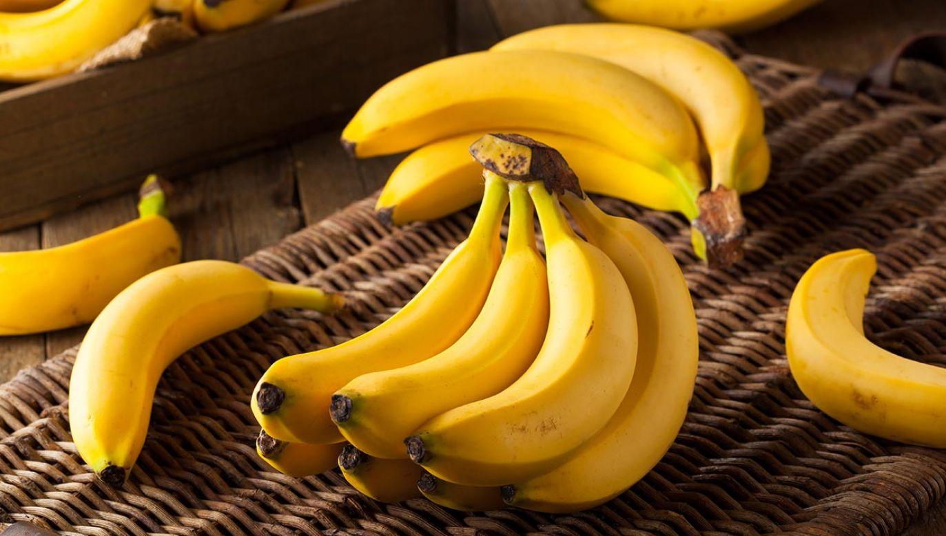 Banany poprawiają nastrój również ze względu na działanie tryptofanu (fot. Shutterstock/Brent Hofacker)