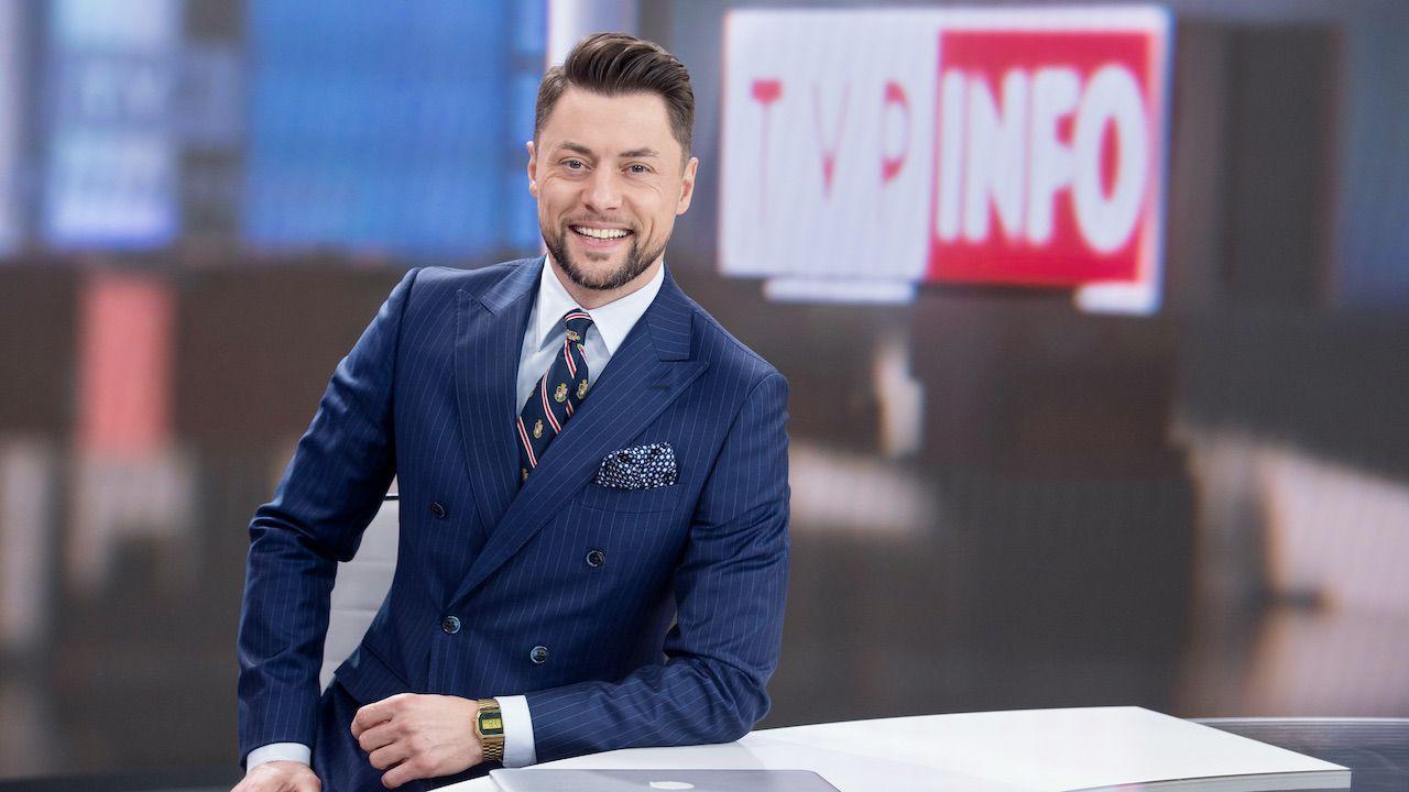 Maciej Dolega w TVP Info (fot. TVP)