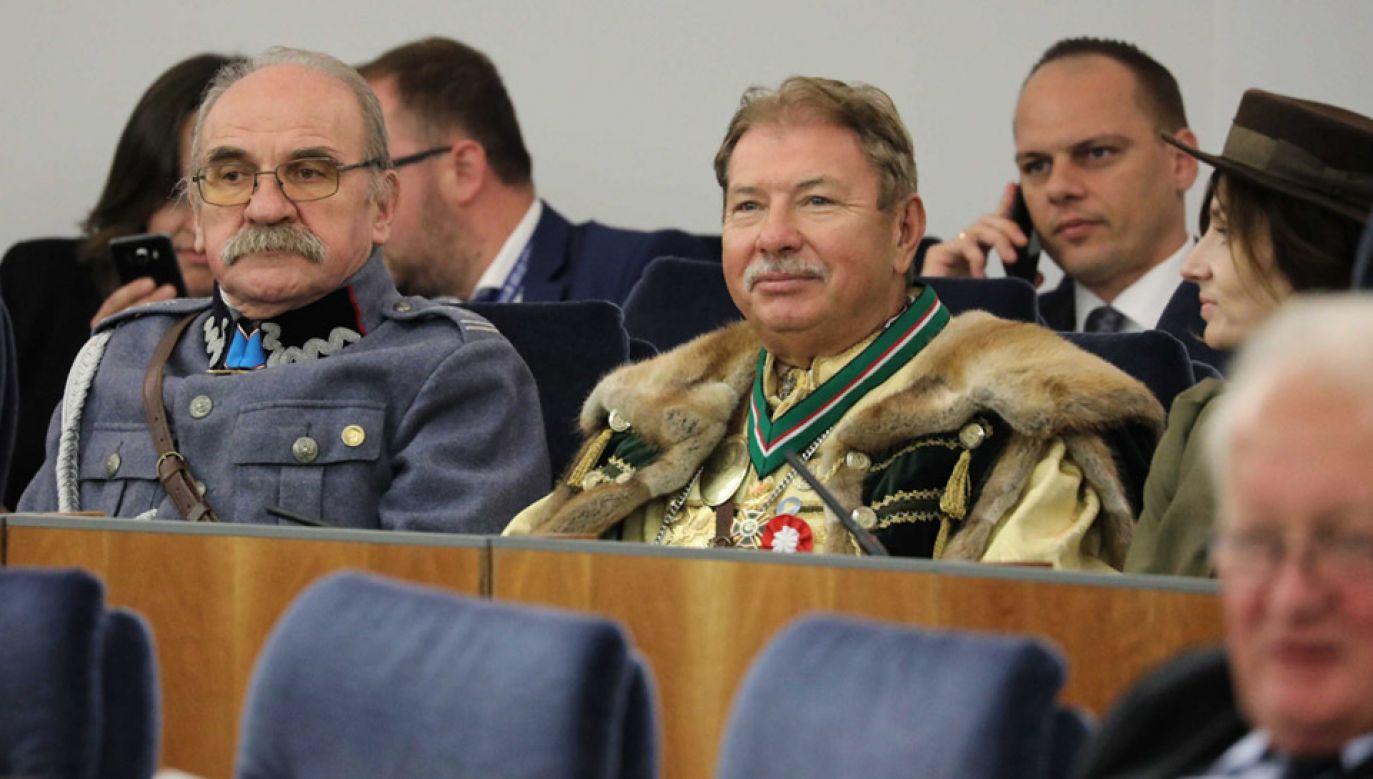 Senatorowie rozpatrzyli uchwałę o ustanowieniu roku 2020 Rokiem Jana Kowalewskiego (fot. PAP/Tomasz Gzell)