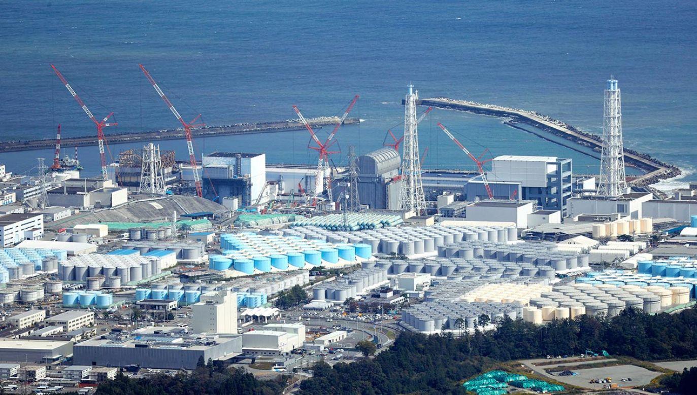 Wg prognoz zbiorniki, w których woda jest przechowywana, będą przepełnione latem 2022 r.  (fot. The Asahi Shimbun via Getty Images)