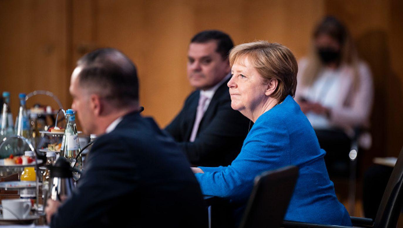 Kanclerz Niemiec Angela Merkel (fot. Getty Images)