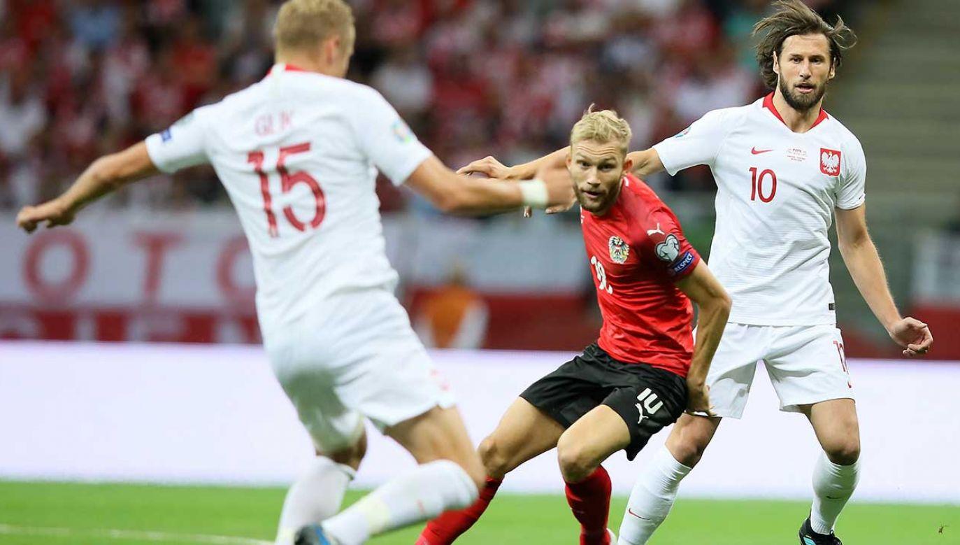 We wrześniowych meczach podopieczni Jerzego Brzęczka zanotowali jedną przegraną i jeden remis (fot. PAP/Leszek Szymański)