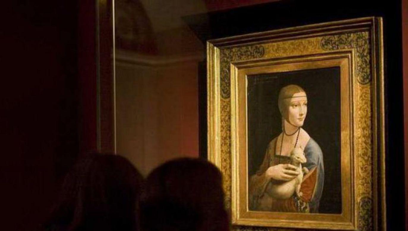 Uroczyste otwarcie muzeum 19 grudnia, a dama będzie ostatnim obiektem dowiezionym do Pałacu Książąt Czartoryskich (fot. PAP/ P.Kula)