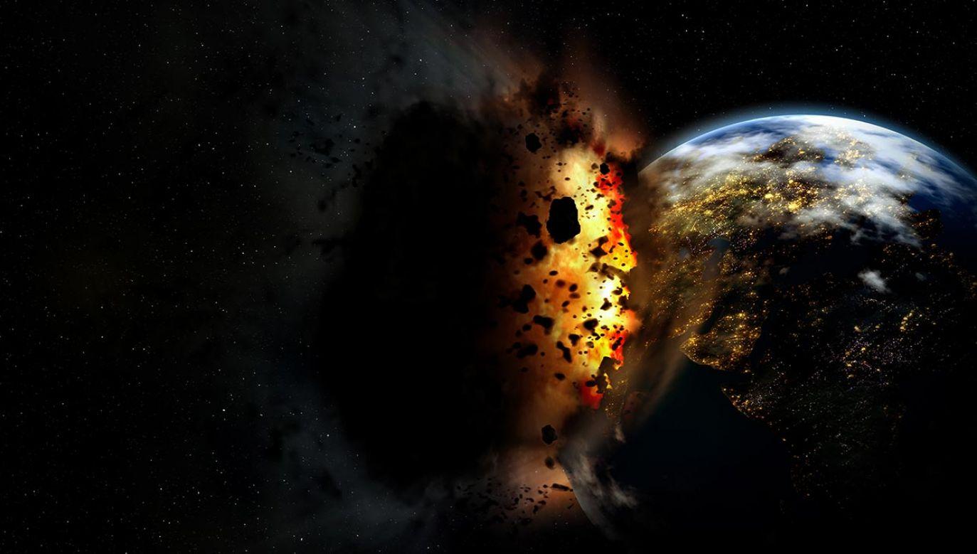 Czy czeka nas armagedon? NASA chce temu zapobiec (fot. Shutterstock/Double Asteroid Redirection Test, zdjęcie ilustracyjne)