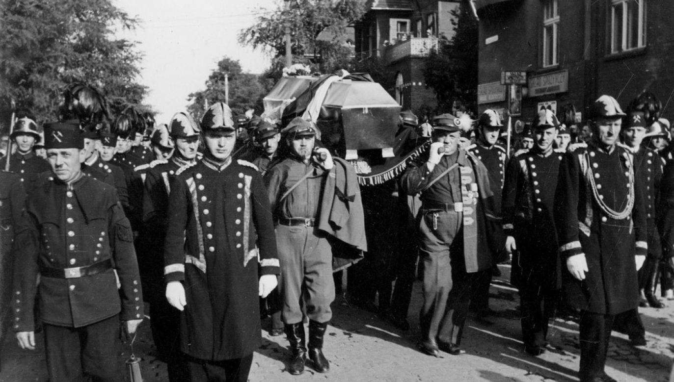 Pogrzeb Wojciecha Korfantego w Katowicach (fot. NAC)