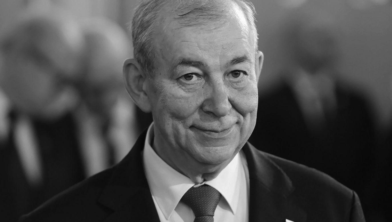 Jerzy Wilk był zasłużonym samorządowcem, od 2015 r. posłem Prawa i Sprawiedliwości (fot. PAP/Leszek Szymański)