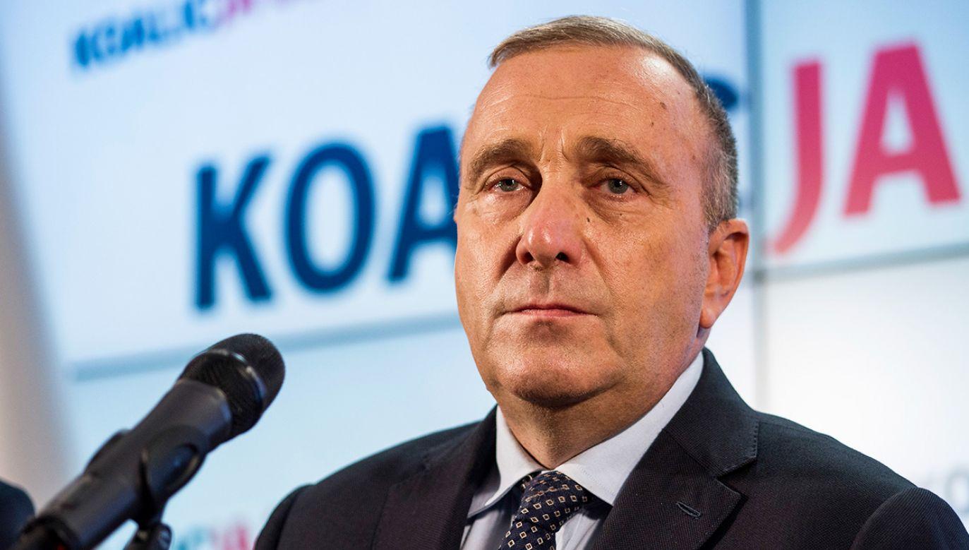 Obecny lider PO przegrywa m.in. z Krzysztofem Brejzą i Barbarą Nowacką (fot. Attila Husejnow/SOPA Images/LightRocket via Getty Images)