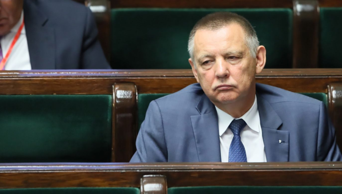 Dymisji od prezesa Najwyższej Izby Kontroli Mariana Banasia domagają się prominentni politycy PiS (fot. arch. PAP/Leszek Szymański)