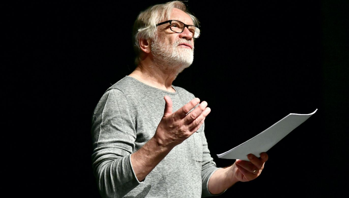 Aktor, reżyser, dyrektor Teatru Polskiego w Warszawie Andrzej Seweryn (fot. arch.PAP/M.Kulczyński)
