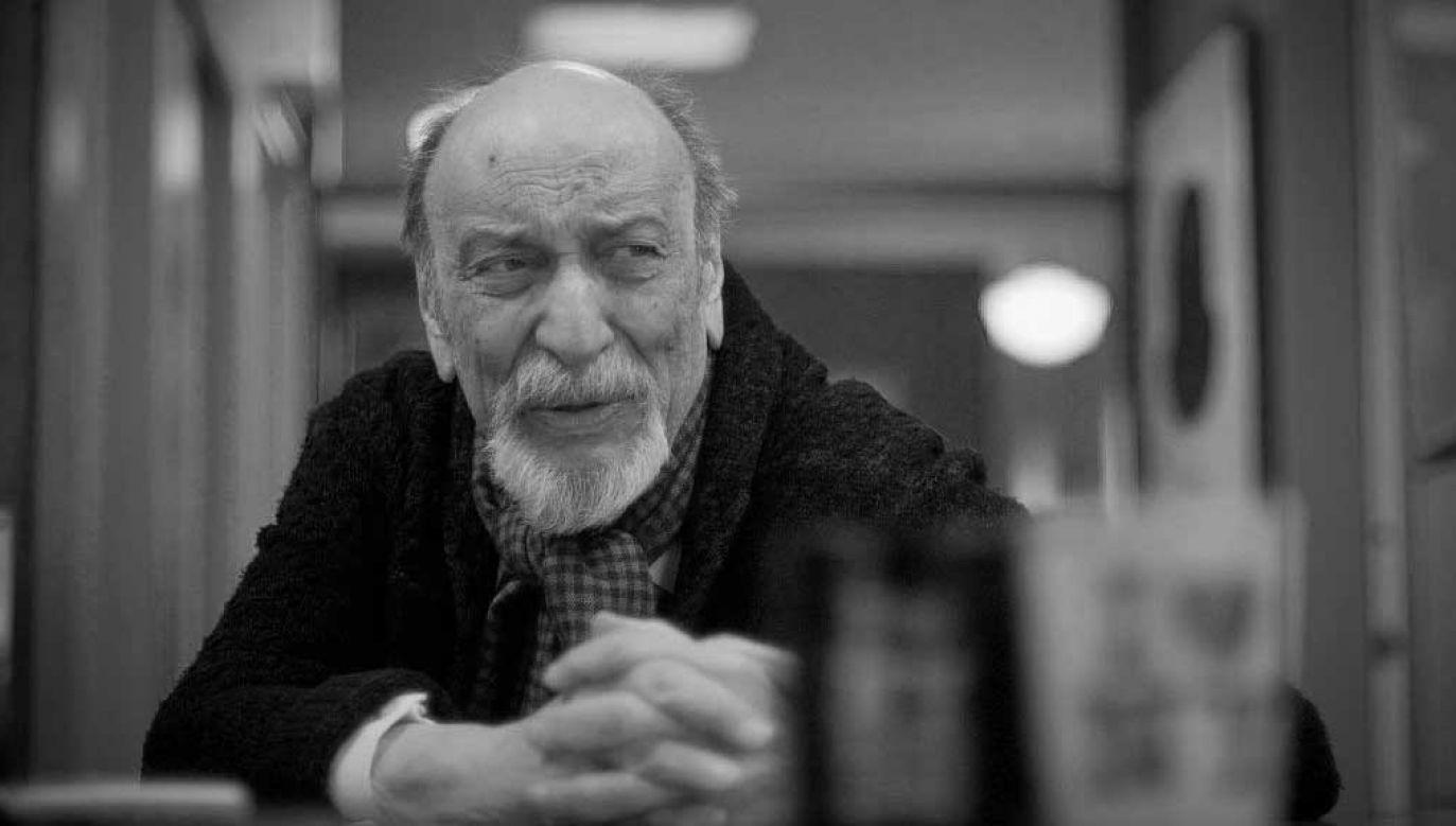 Milton Glaser urodził się i zmarł w Nowym Jorku (fot. Neville Elder/Corbis via Getty Images)