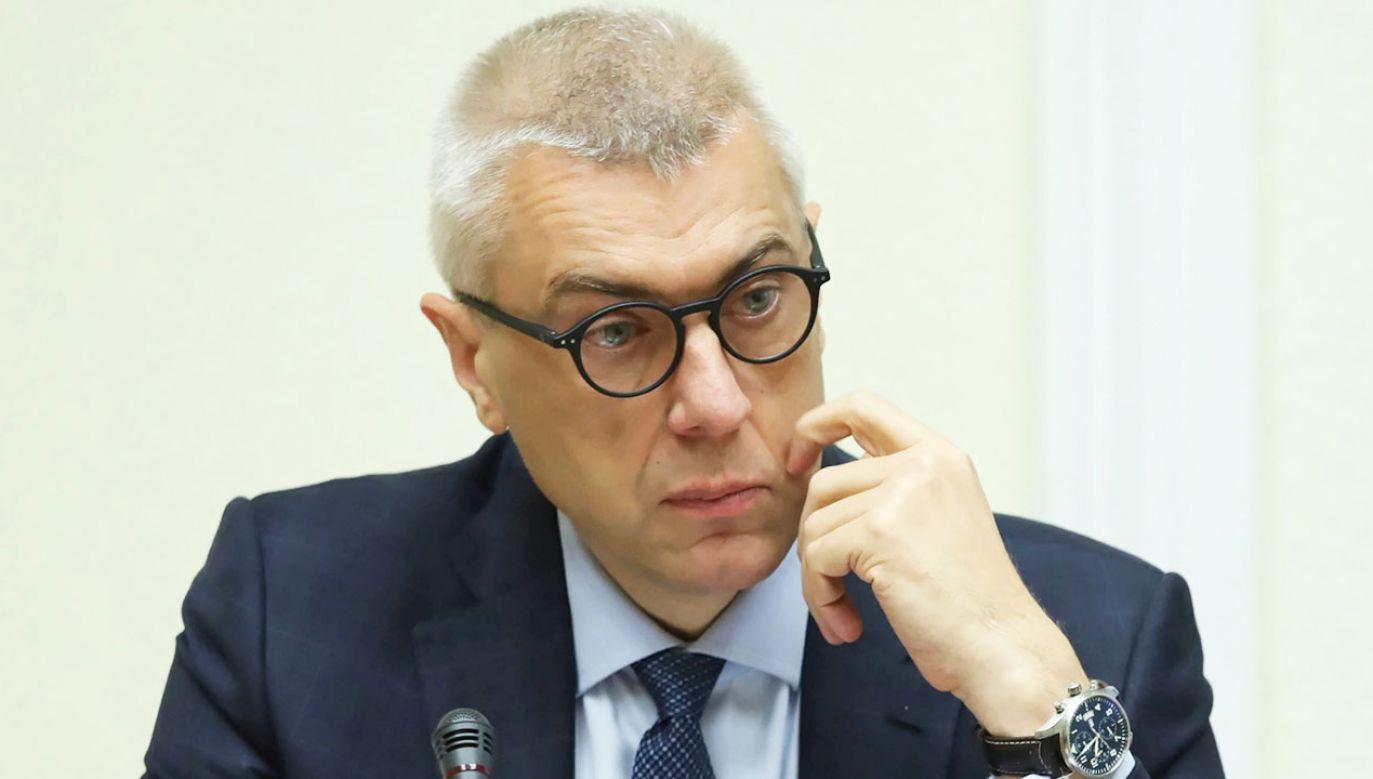 Politycy o mozłiwym starcie Giertycha z list KO do Senatu (fot. arch. PAP/Tomasz Gzell)