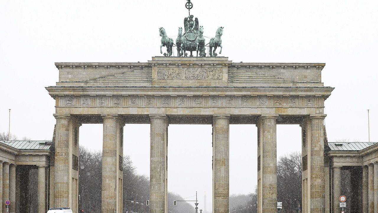"""""""Niemcy chciały stworzyć oś Bruksela-Pekin"""" (fot. Abdulhamid Hosbas/Anadolu Agency via Getty Images)"""