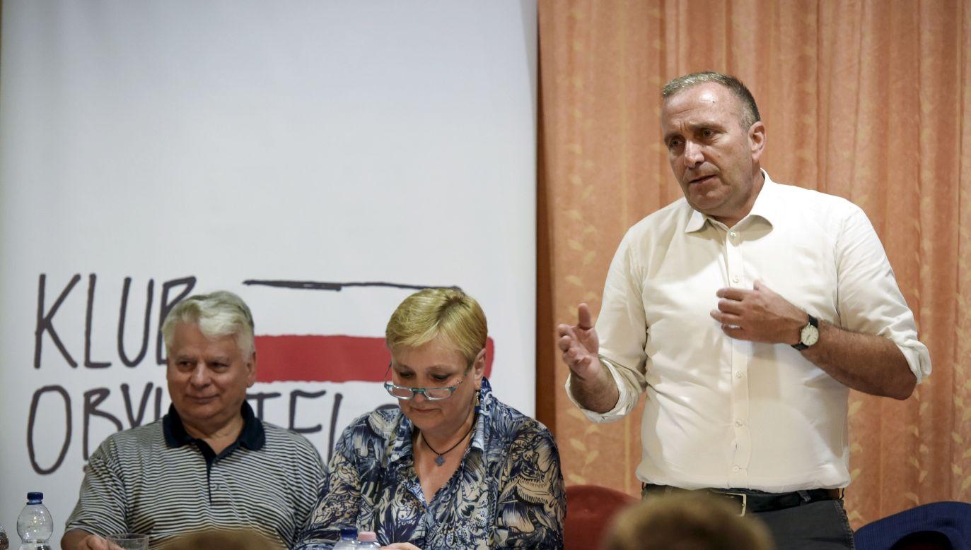 Wydaje mi się, że nasza partia obfituje w osoby, które potrafiłyby partię prowadzić – powiedziała Thun (fot. arch. PAP/Roman Jocher)