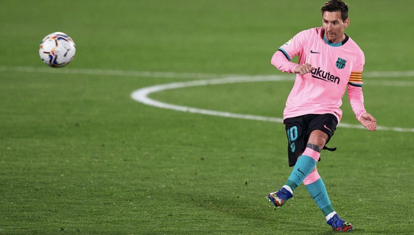 Leo Messi nie będzie miałokazji rywalizacji z Cristiano Ronaldo w dzisiejszym meczu (fot. Mateo Villalba/Quality Sport Images/Getty Images)