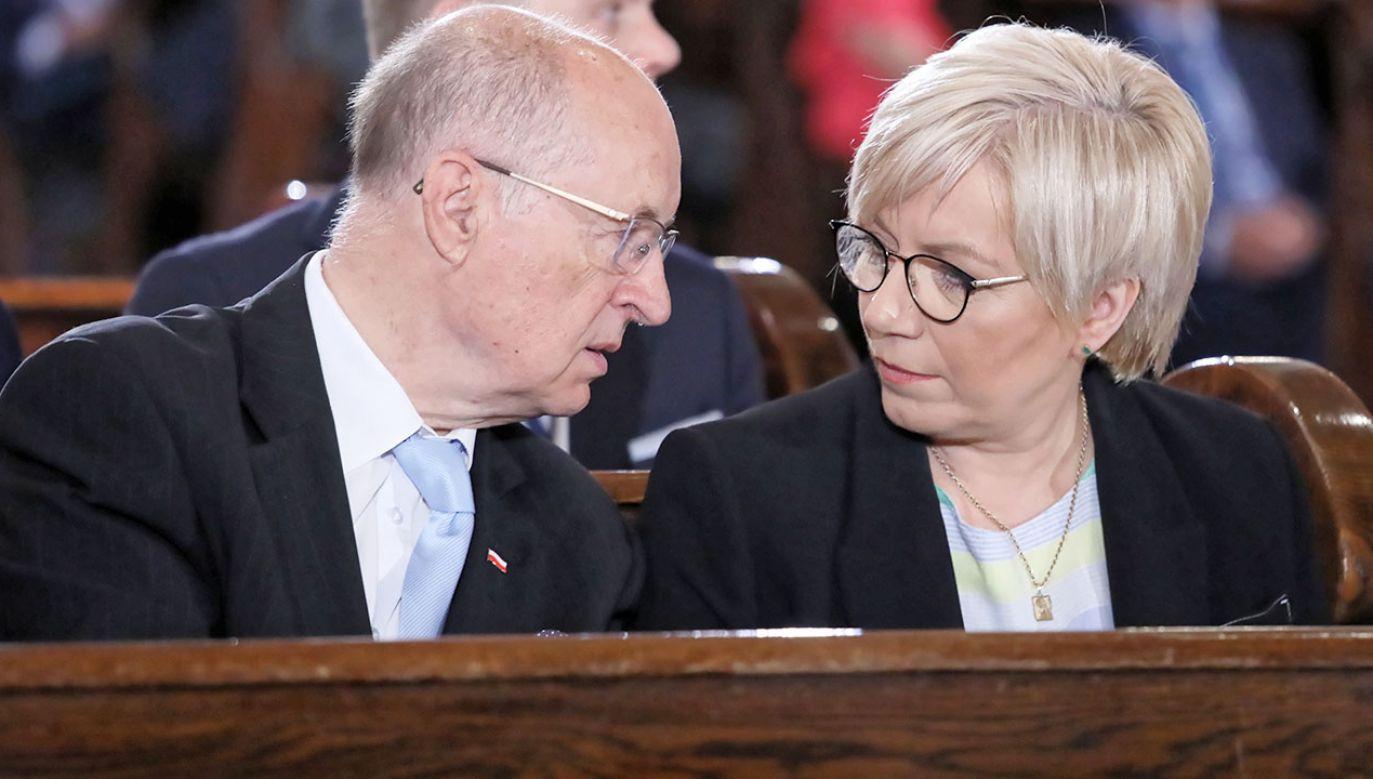 Terminarz spotkań Julii Przyłebskiej nie jest dokumentem publicznym – potwierdził sąd. (fot. arch.PAP/Tomasz Gzell)