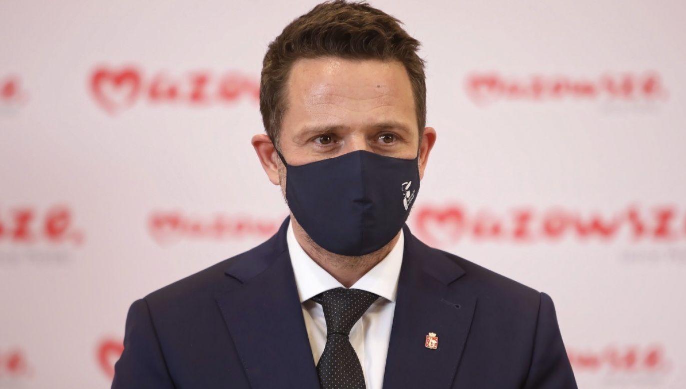 Prezydent Warszawy stwierdził, że jest za liberalizacją prawa aborcyjnego (fot. PAP/Leszek Szymański)
