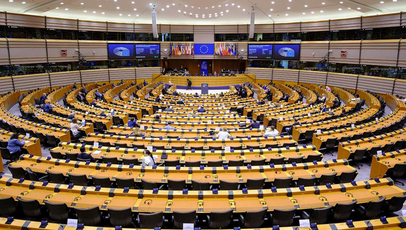 W PE dyskutowano o praworządności w Polsce (fot. Thierry Monasse/Getty Images)