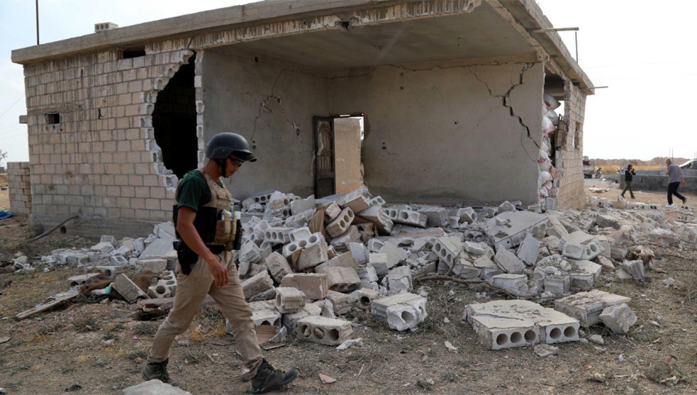 Kurdowie znajdują się w trudnym położeniu (fot. PAP/EPA/AHMED MARDNLI)