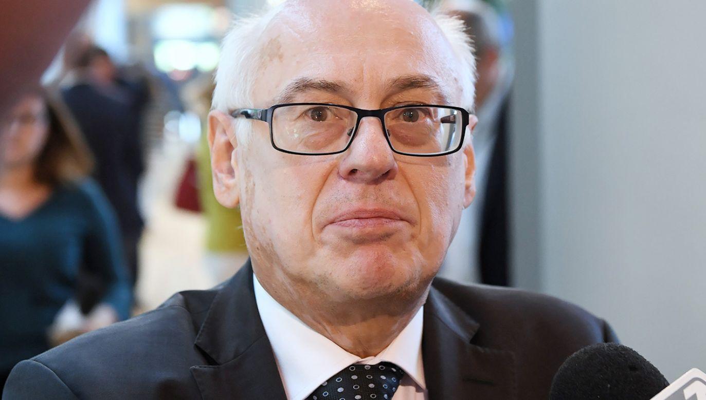 Zaznaczył, że Polska szanuje wartości europejskie (fot. PAP/Radek Pietruszka)