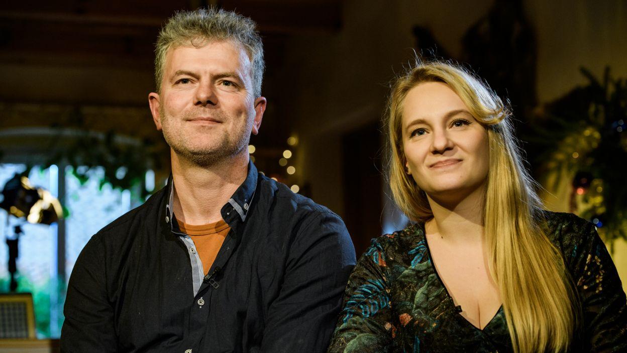 Julia i Marek tworzą zgraną, wspierającą się parę (fot. TVP)