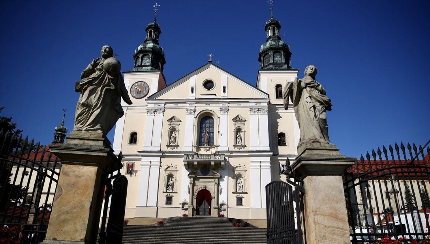 Sanktuarium w Kalwarii Zebrzydowskiej (fot. arch.PAP/Łukasz Gągulski)