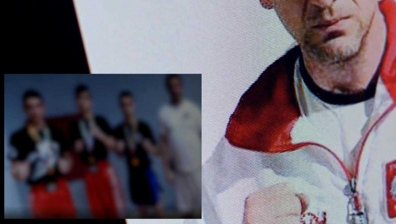 Dariusz P. latami molestował chłopców (fot. TVP1)