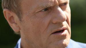 """Były premier tak zareagował na prezydencką propozycję budowy """"Koalicji polskich spraw"""" wspólnie z Konfederacją i PSL-KP (fot. PAP/Adam Warżawa)"""