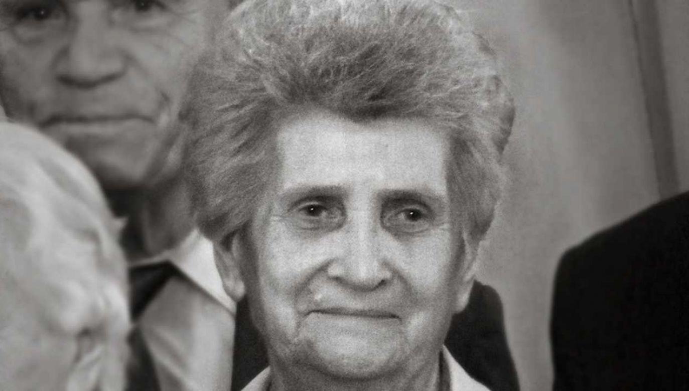 Zofia Krzyżanowska miała 86 lat (fot. IPN)