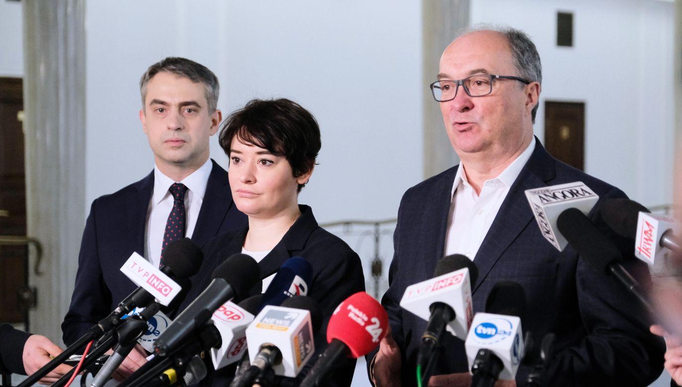 Żołnierze Wyklęci. Liderzy SLD ostro o upamiętnianiu bohaterów (fot. PAP/Mateusz Marek)
