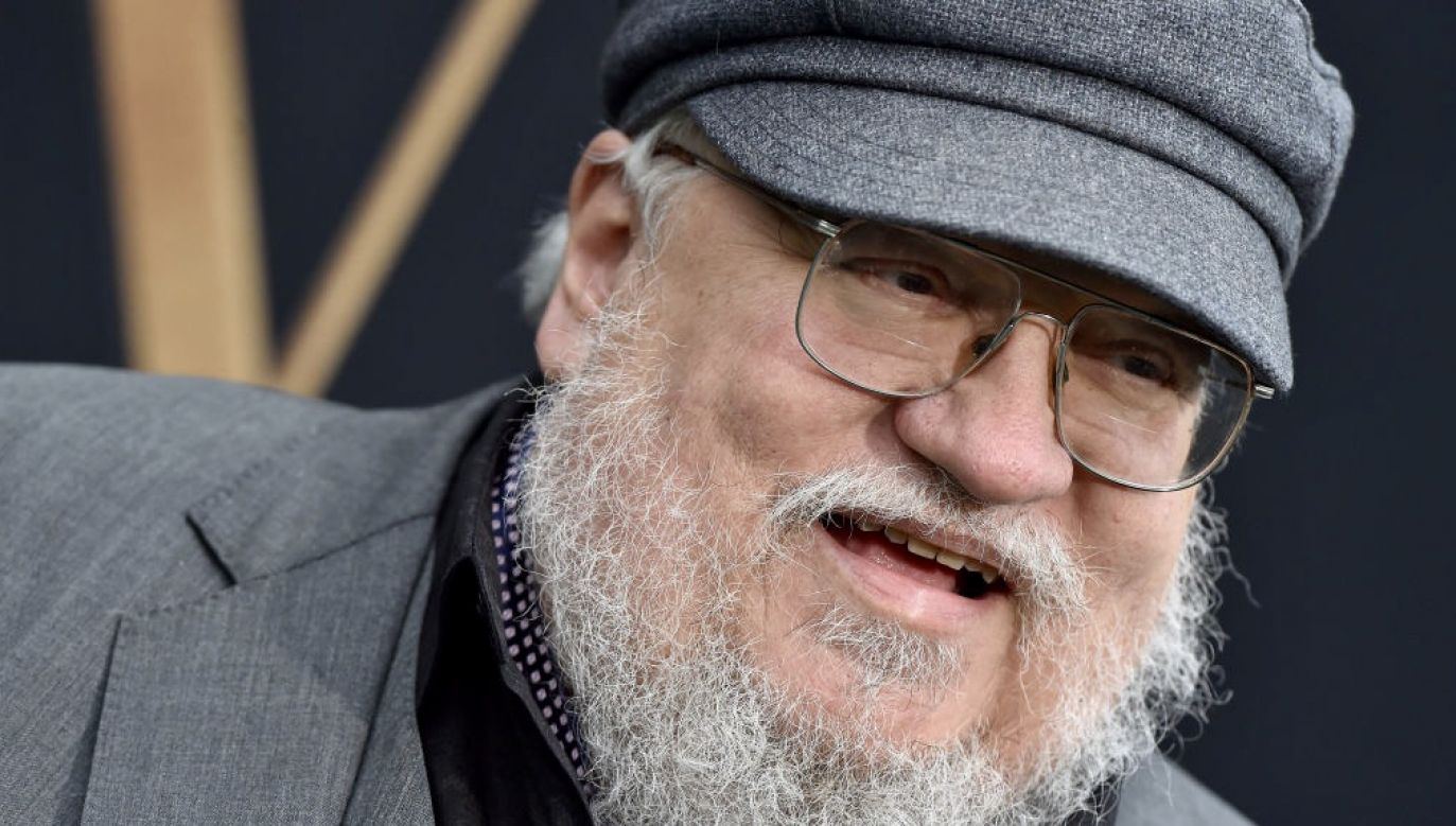 George R.R. Martin autor powieści science-fiction i fantasy (fot. Axelle/Bauer-Griffin/FilmMagic)