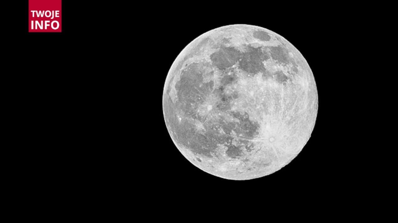 Ostatniej nocy można było zaobserwować Pełnię Robaczego Księżyca (fot. Twoje Info)