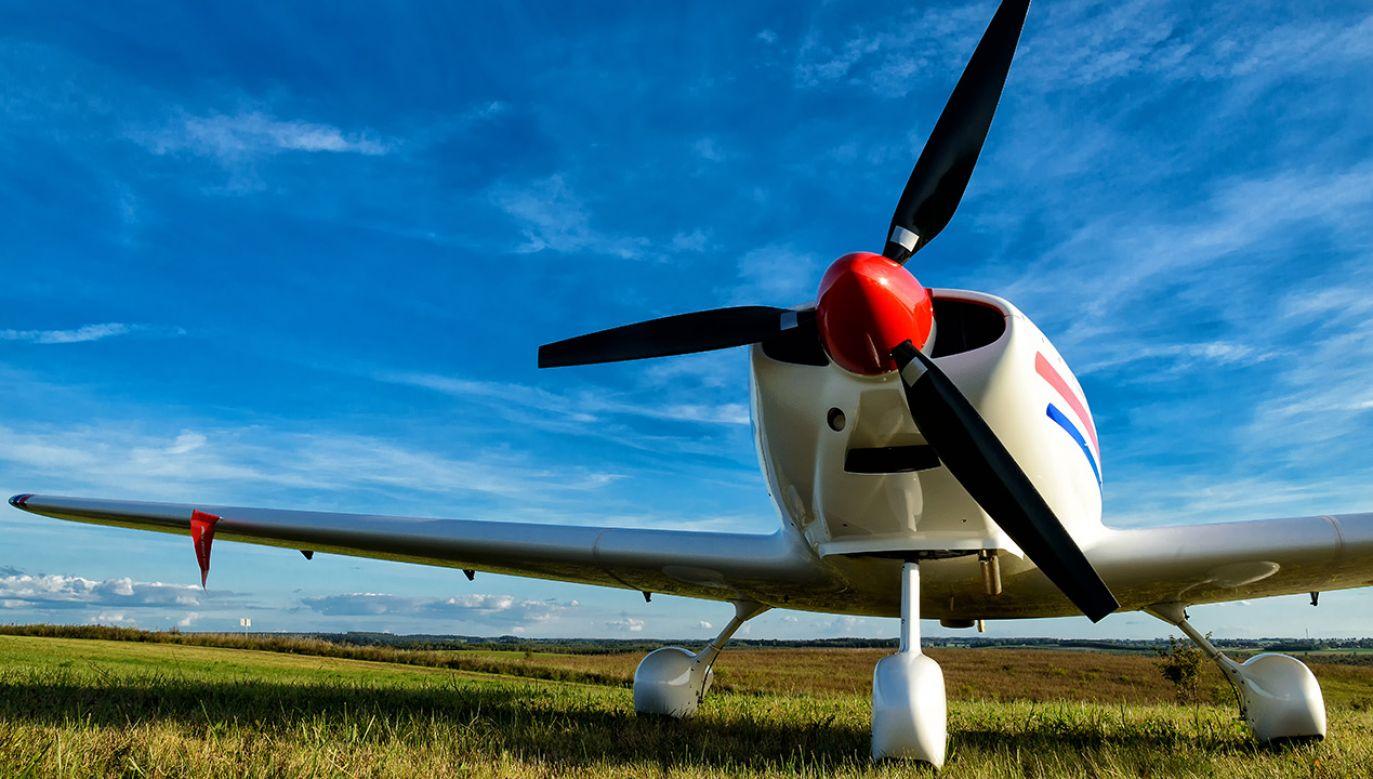 Dwa samoloty zderzyły się w małopolskiej Łososinie (fot. Shutterstock; zdjęcie ilustracyjne)