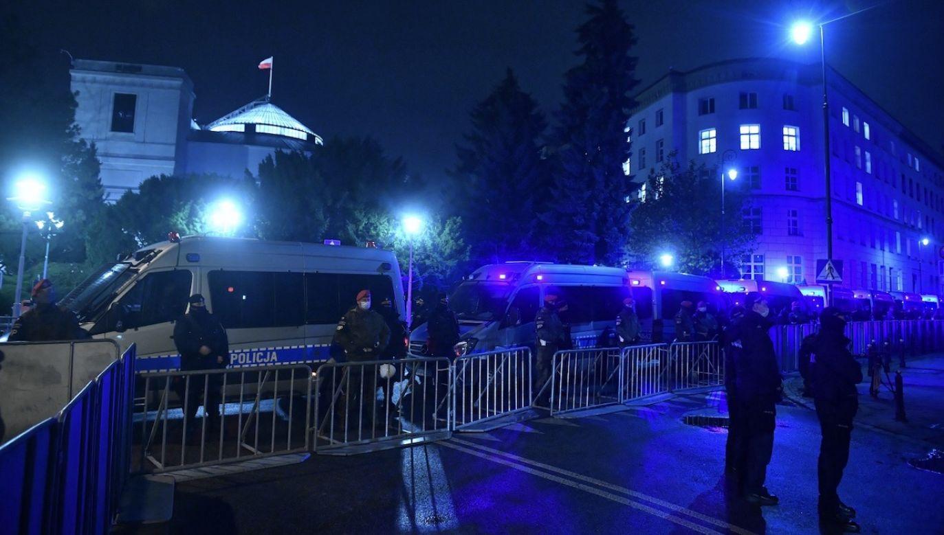 Marcie Lempart zakazano wstępu do budynków Sejmu i Senatu (fot. PAP/Radek Pietruszka)