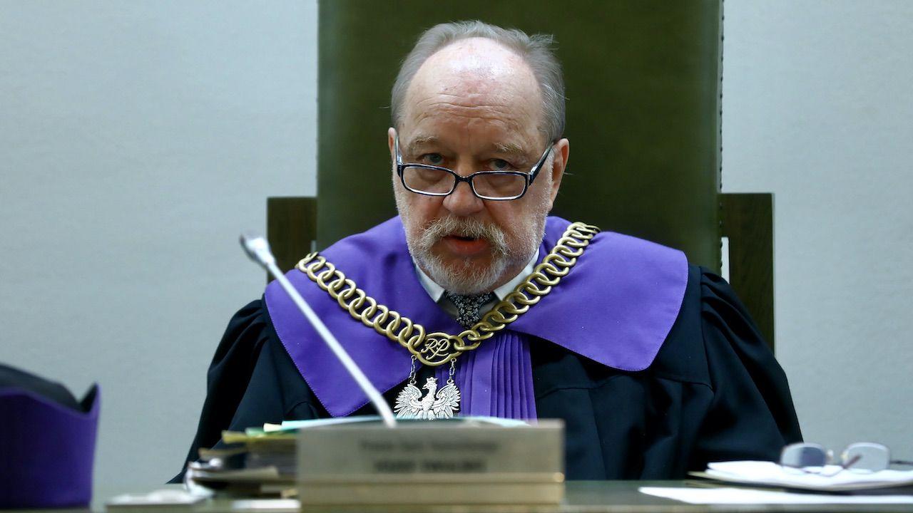 Sędzia Józef Iwulski (fot. arch.PAP/R.Guz)