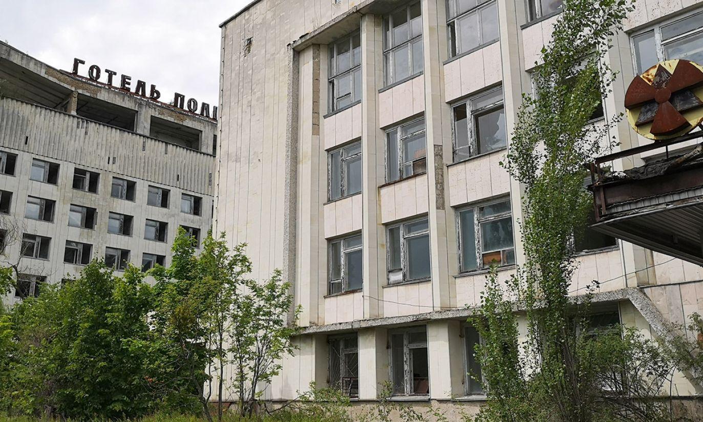 Prypeć centrum (fot. Radosław Poszwiński)