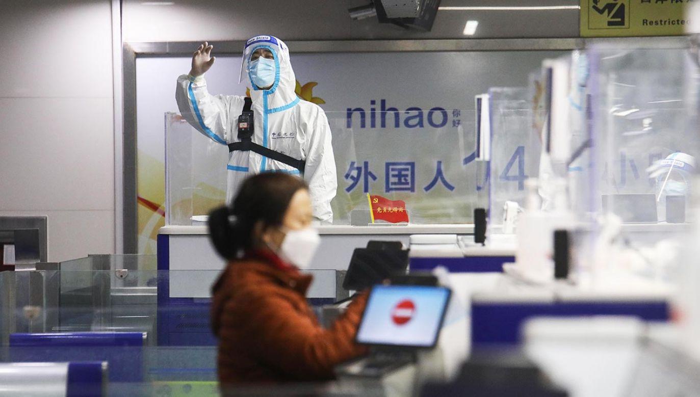Testy wymazów z odbytu są skuteczniejsze – twierdzą chińscy eksperci (fot. Xie Hao/VCG via Getty Images)