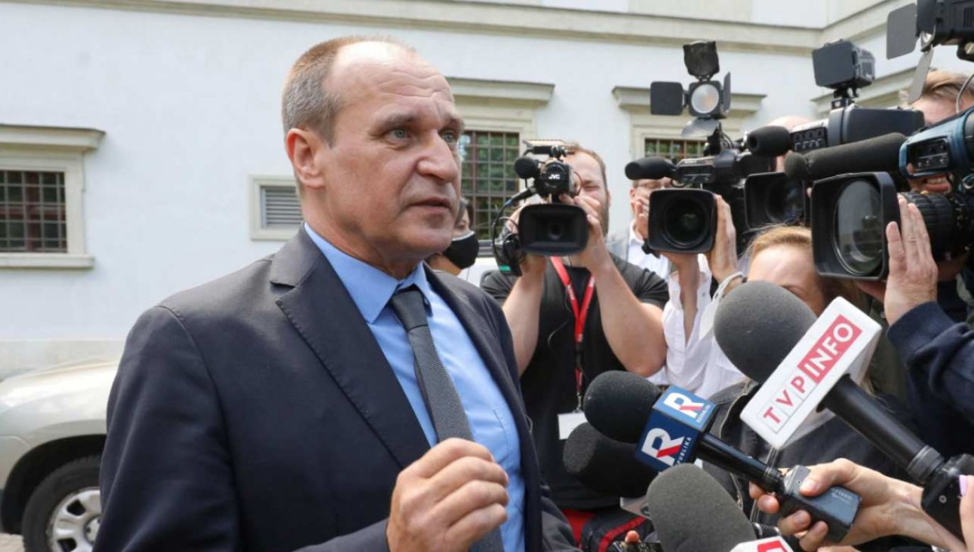 Paweł Kukiz przyznał, że jest zwolennikiem bezpośredniego wyboru RPO (fot. PAP/Paweł Supernak)