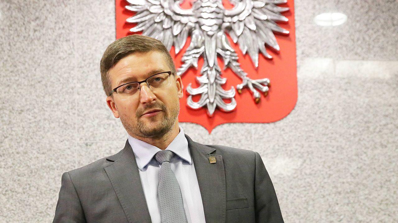 Sędzia Paweł Juszczyszyn we wtorek ma się zapoznać z listami poparcia do KRS w nowym składzie(fot. arch. PAP/Tomasz Waszczuk)