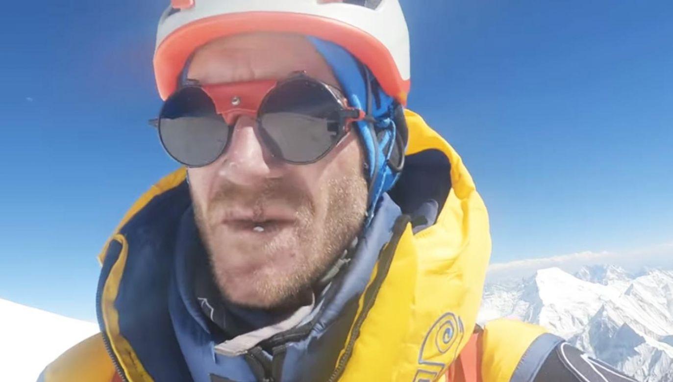 Były dziennikarz TVP zdobył Broad Peak (fot. Facebook/Oswald Rodrigo Pereira)