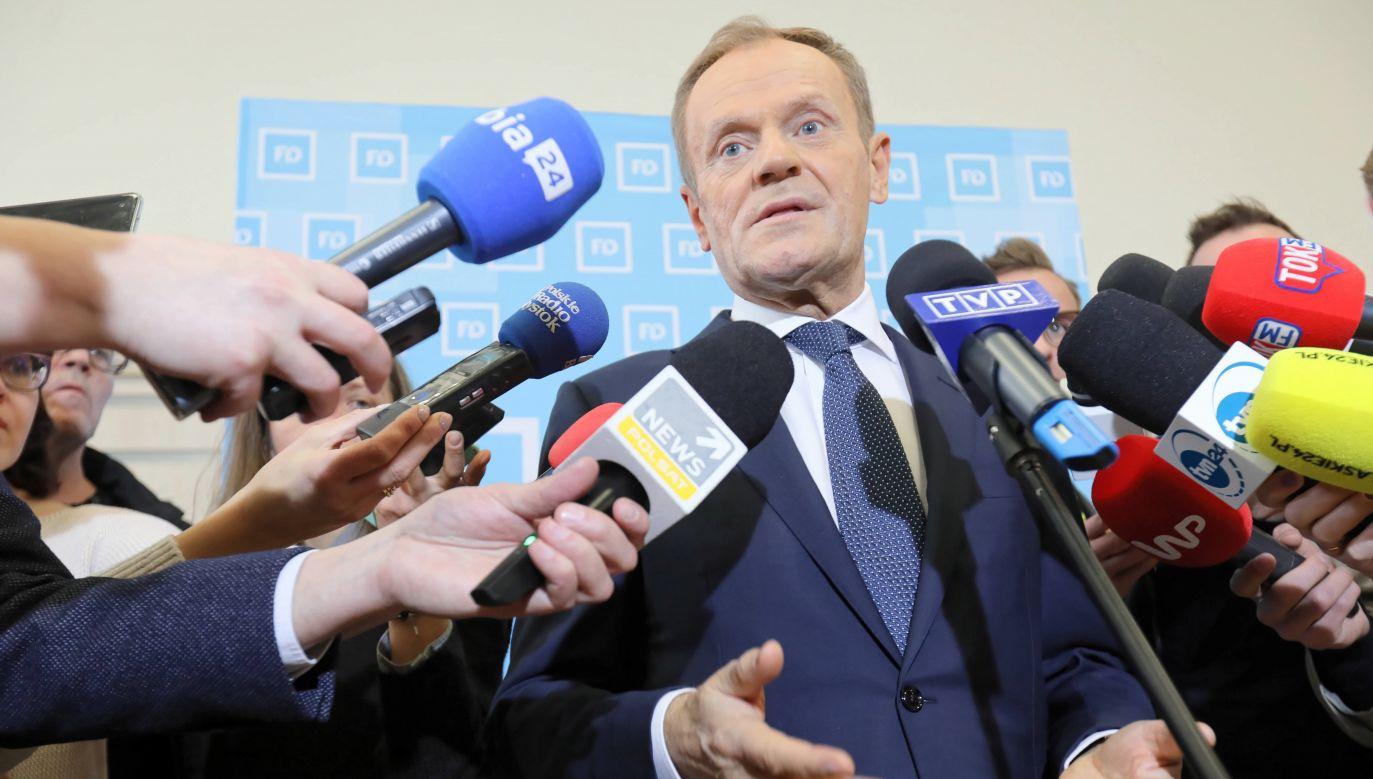 Zbigniew Kuźmiuk (PiS): Donald Tusk psychicznie cierpi (fot. PAP/Artur Reszko)
