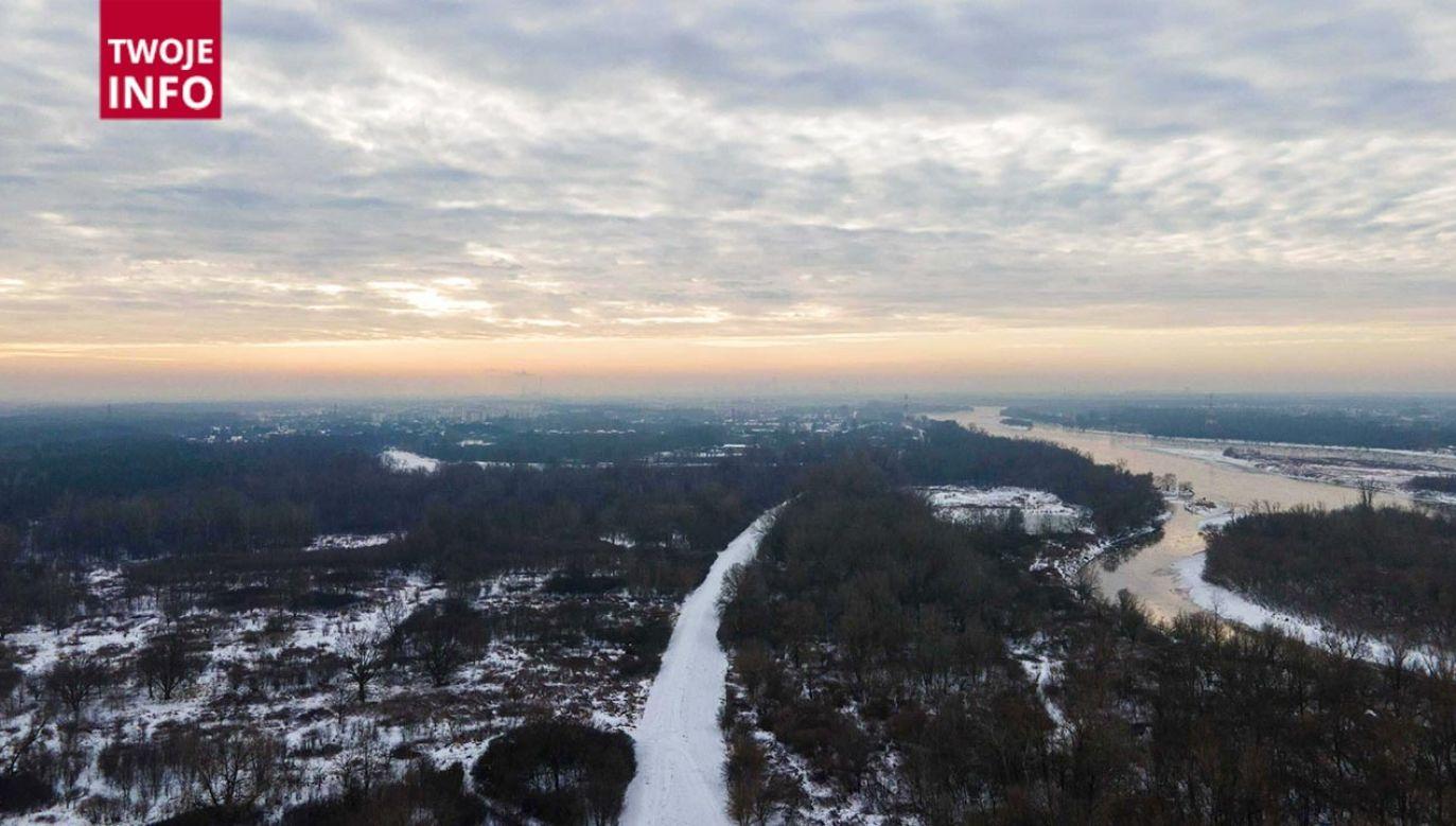 Zimowy poranek w miejscowości Jabłonna (fot. Twoje Info)