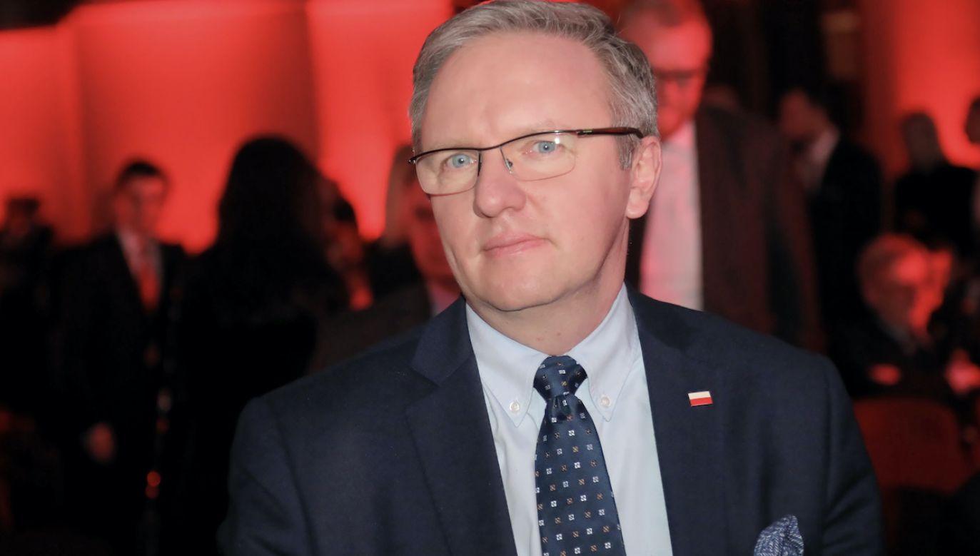 Krzysztof Szczerski (fot. arch.PAP/Wojciech Olkuśnik)