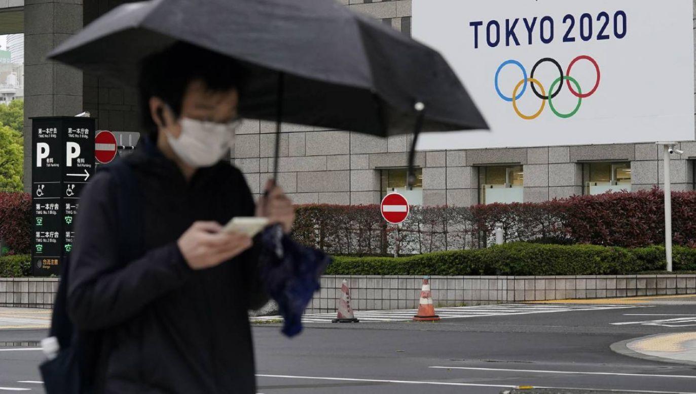 Igrzyska olimpijskie w Tokio mogą zostać odwołane przez pandemię COVID-19 (fot. PAP/EPA/KIMIMASA MAYAMA)