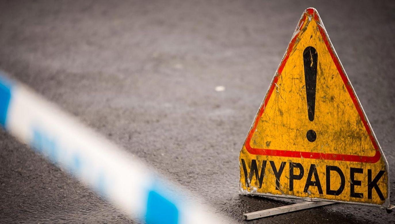 W wyniku wypadku poważnych obrażeń ciała doznały trzy kobiety i mężczyzna (fot. arch.PAP/Tytus Żmijewski, zdjęcie ilustracyjne)