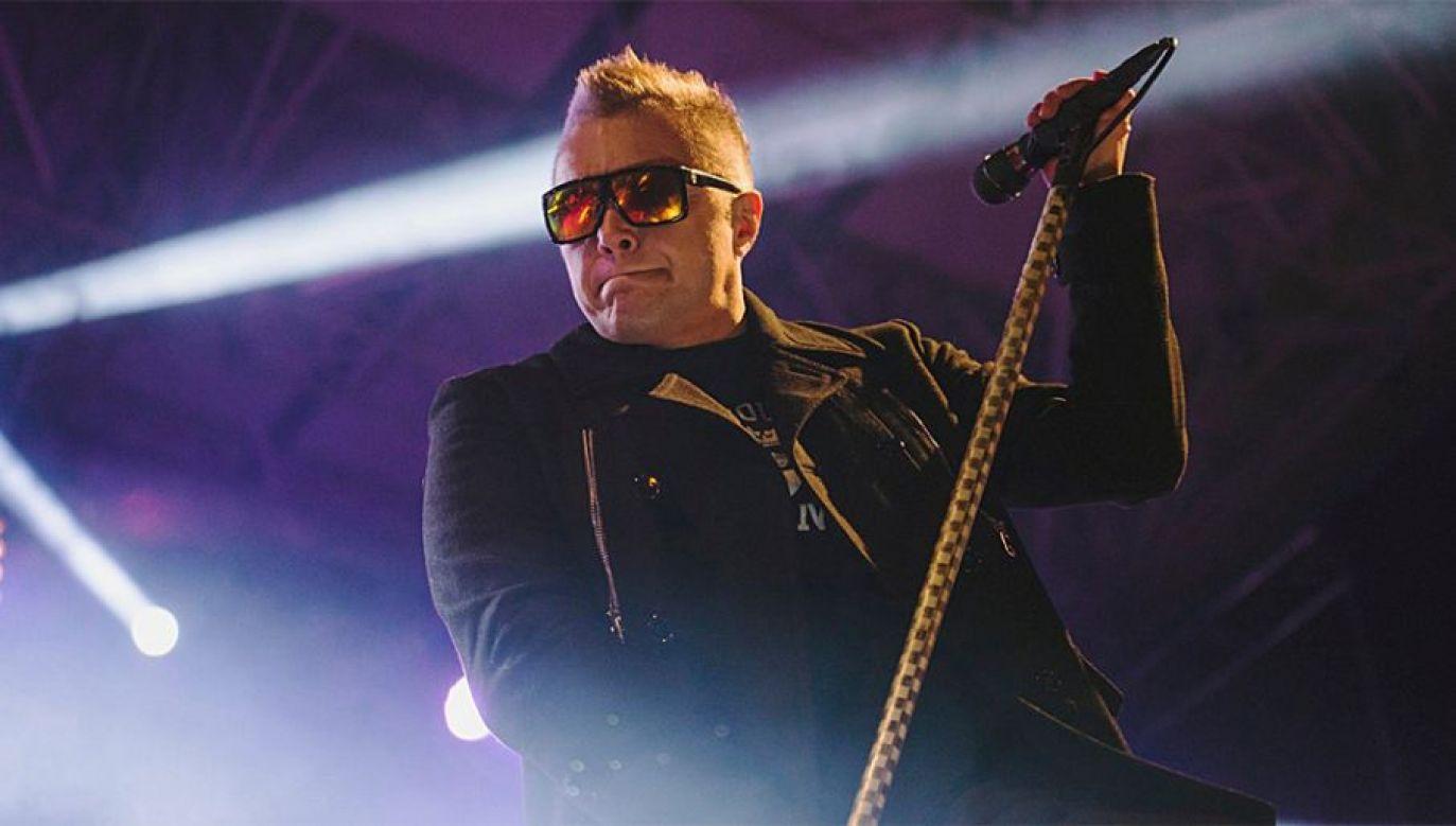 Muniek Staszczyk jest liderem i wokalistą zespołu T.Love (fot. mat.pras.)
