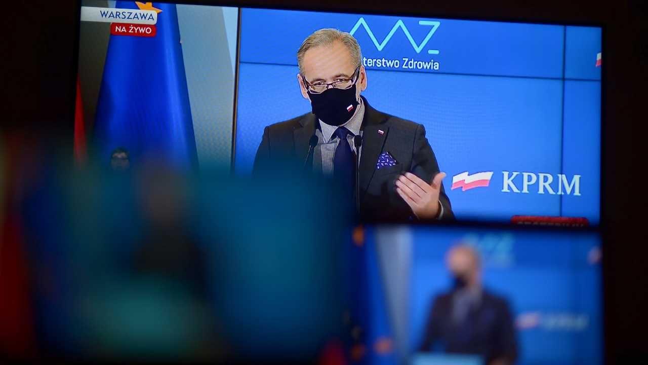 Adam Niedzielski skomentował oświadczenie prof. Zbigniewa Gacionga (fot. PAP/Piotr Nowak; Mateusz Marek)