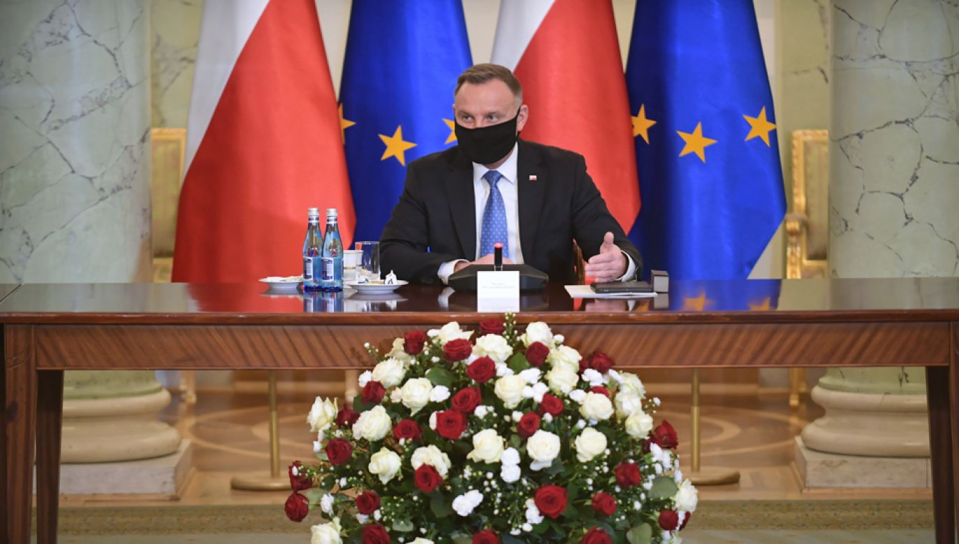 Prezydent Andrzej Duda reprezentuje Polskę na szczycie klimatycznym (fot. PAP/Marcin Obara)