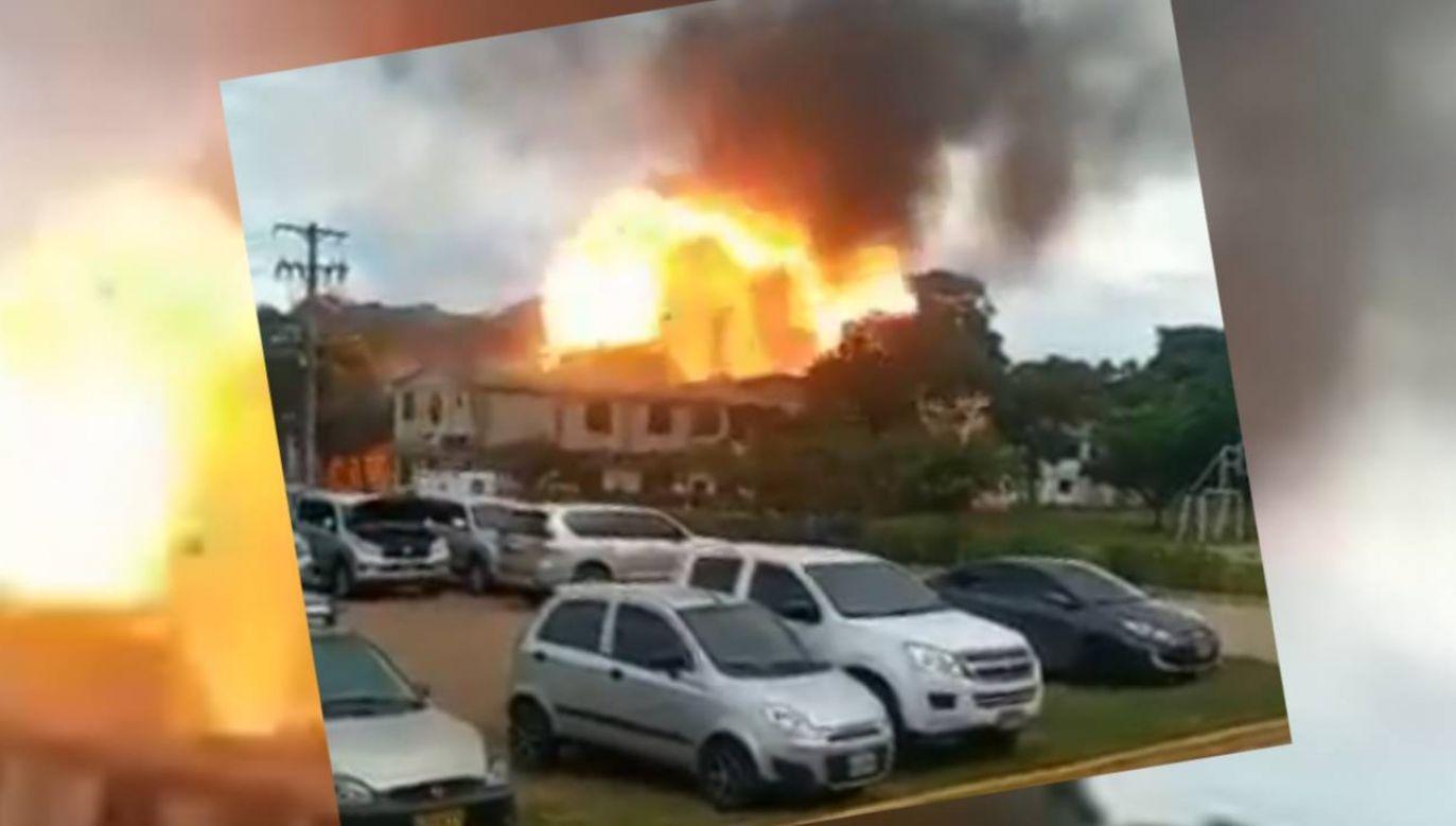 Trzy osoby są w stanie ciężkim (fot. TT/Breaking News)
