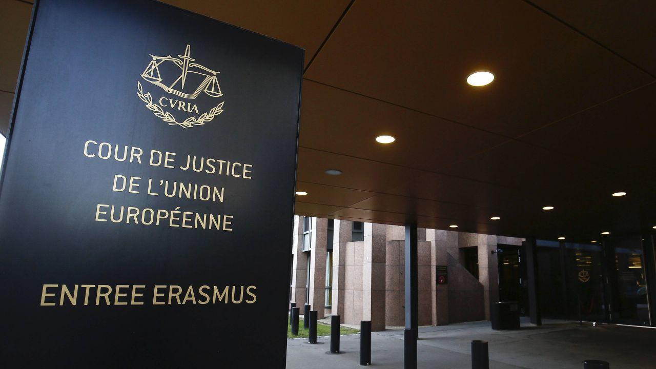 Trybunał Sprawiedliwości Unii Europejskiej z siedzibą w Luksemburgu (fot. EPA/JULIEN WARNAND, PAP)