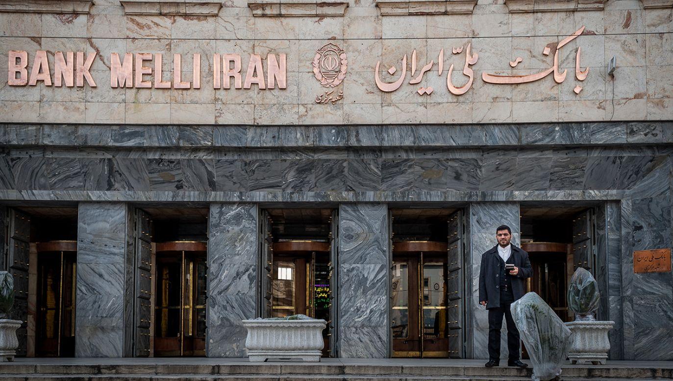 USA nakładają sankcje na irański bank narodowy (fot. Getty Images/Alessandro Rota)